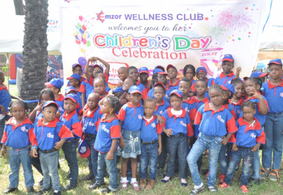 Children's Day Party Held at Victory Park 206 Road, Festac Town, Lagos
