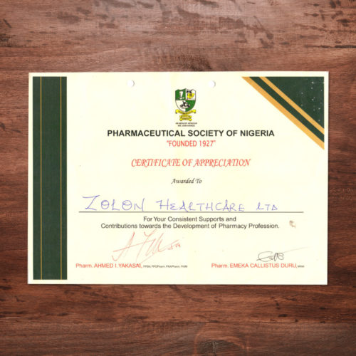 Pharmaceutical-society-Nigeria-certificate