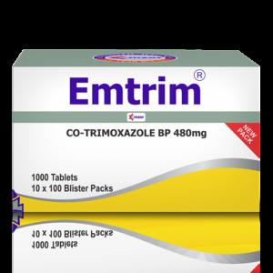 EmtrimBlisters Tablets 10*100 Image