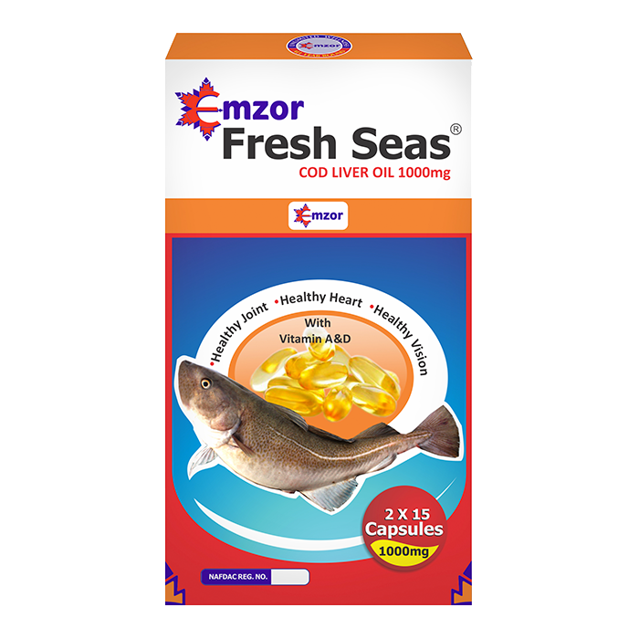 Fresh Seas 1000 mg 2*15  Image