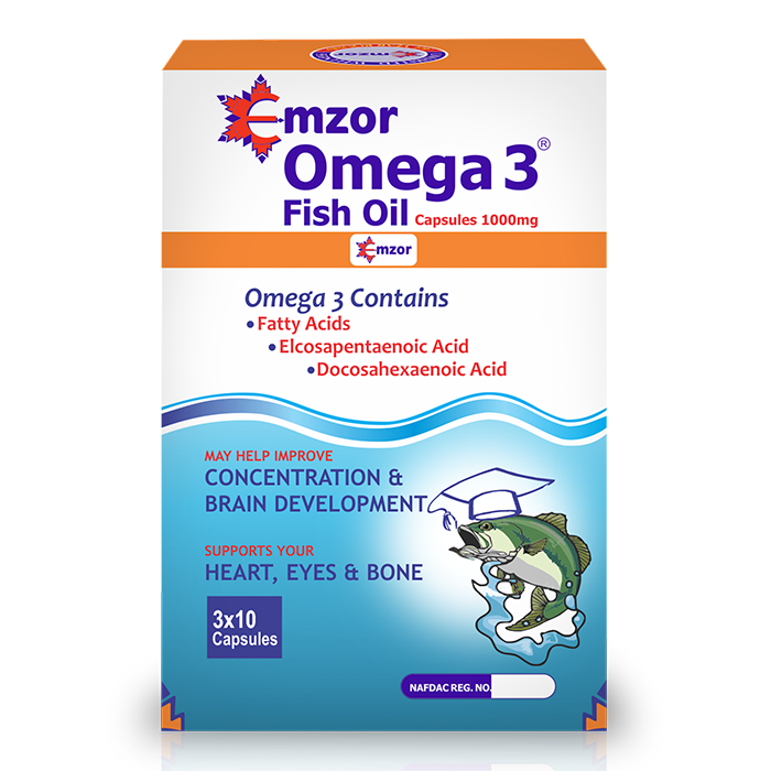 Omega 3 Fish Oil 3*10  Image