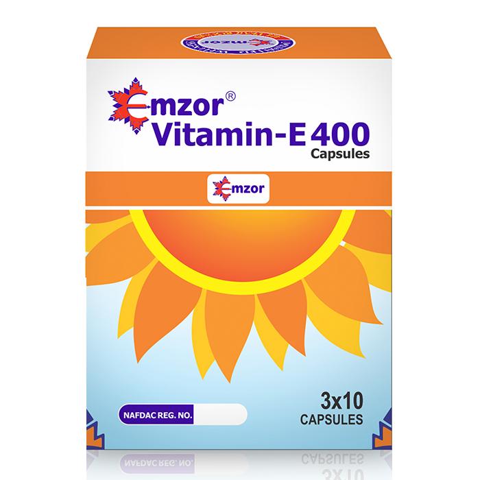 Vitamin E 400iu Soft Gel 3*10 Image