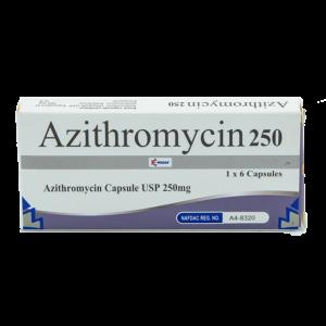 Azithromycin 250 Mg Cap Image