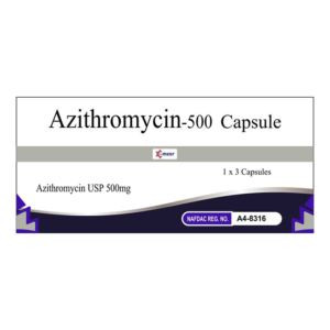 Azithromycin 500Mg Cap Image