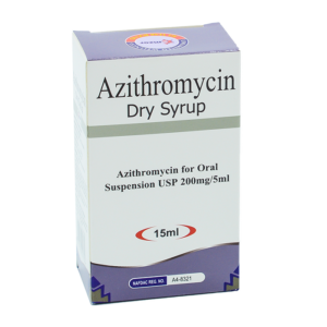 Azithromycin Dry Syrup Image