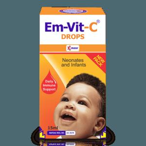 Em-Vit-C Drops - 15ml Pack Image