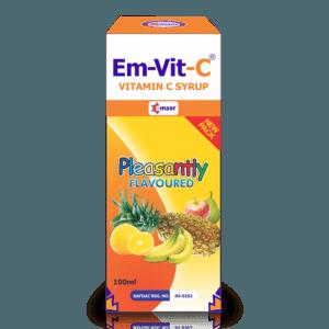 Em-Vit-C Syrup 100mg/5ml - 100mlPack Image