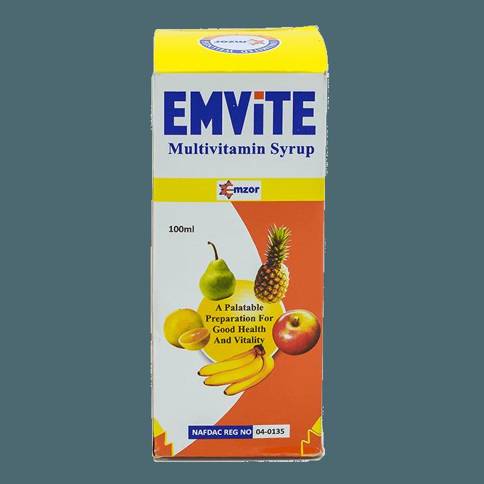 EmviteSyrup *100ml Image