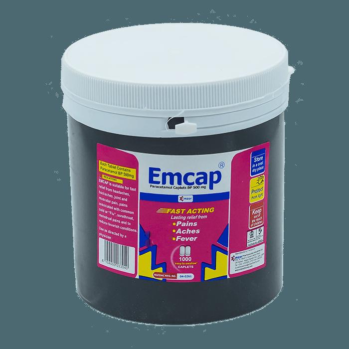 Emcap500mg Caplet *1000 Image