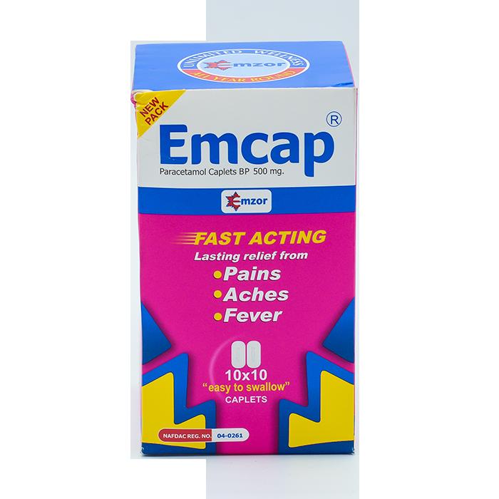 Emcap500mg Caplet 10*10 Image