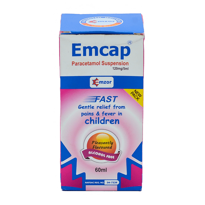 Emcap Suspension - 60ml Pack Image