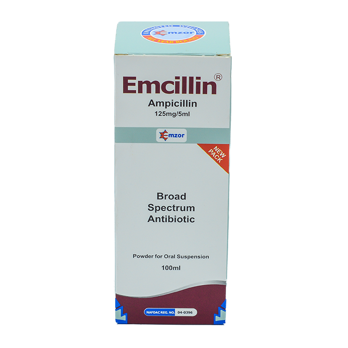 Emcillin Suspension 125mg/5ml  Image