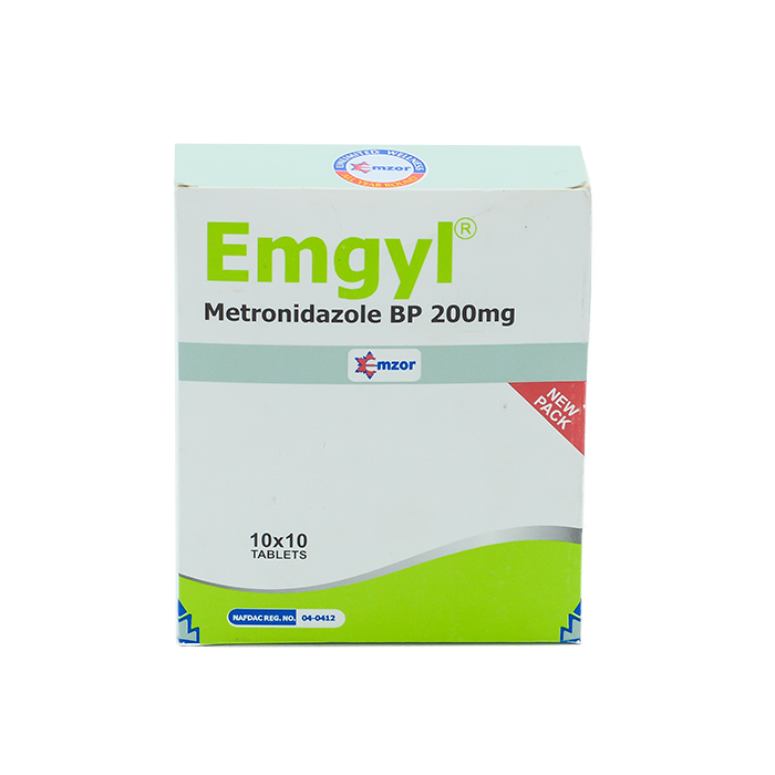 Emgyl Tablets Blister 200mg 10*10  Image