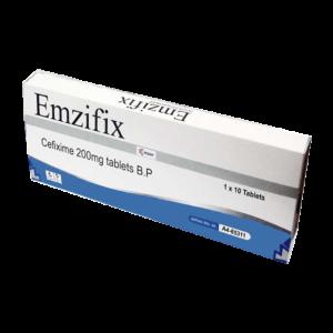 Emzifix(Cefixime) 200Mg Tab Image