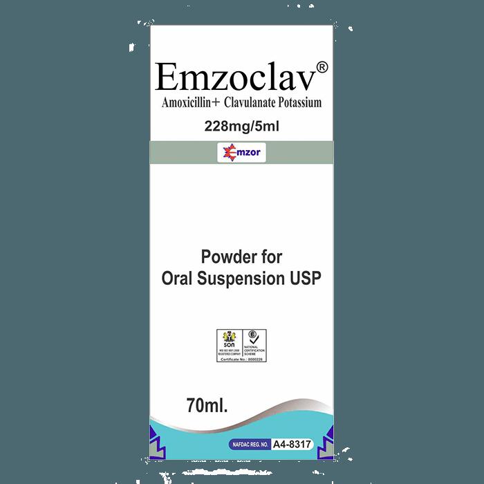 Emzoclav - Amoxicillin/Clavulanic AcidSusp Image