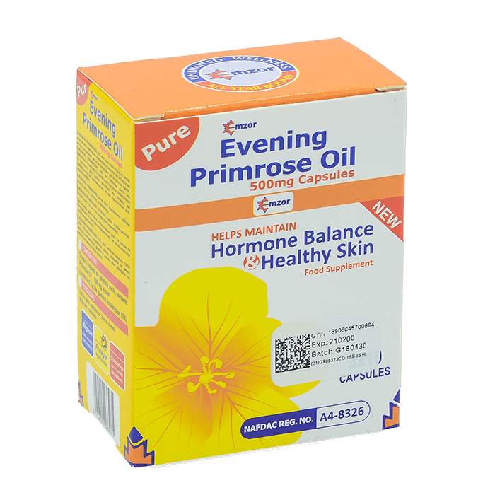 Evening PrimroseOil 500mg Soft Gel 3*10 Image