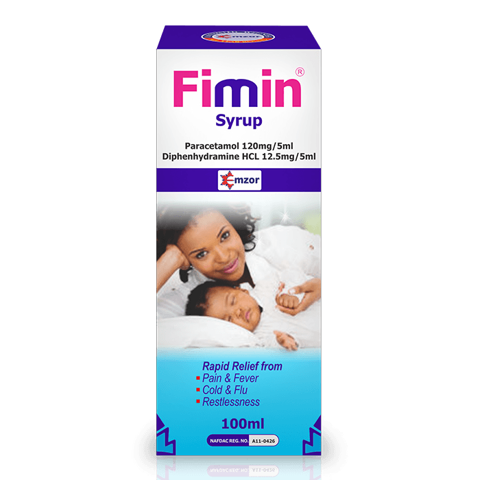 Fimin Syrup - 100ml Pack Image