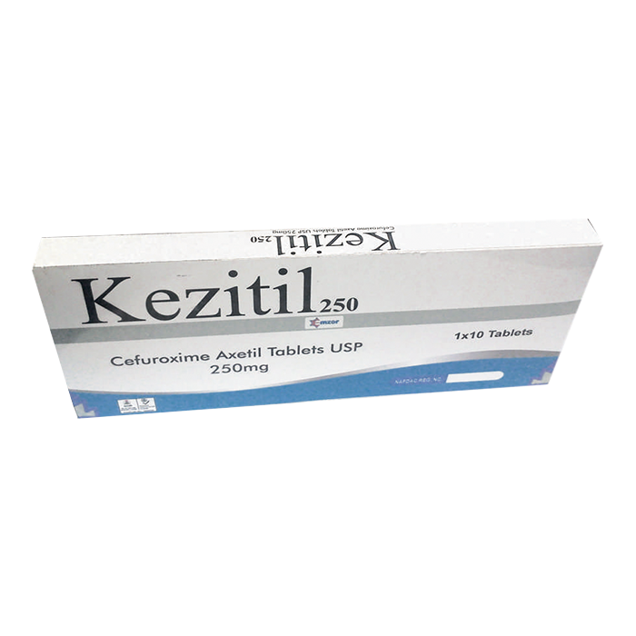 KezitilTablets 250mg 1*10 Image