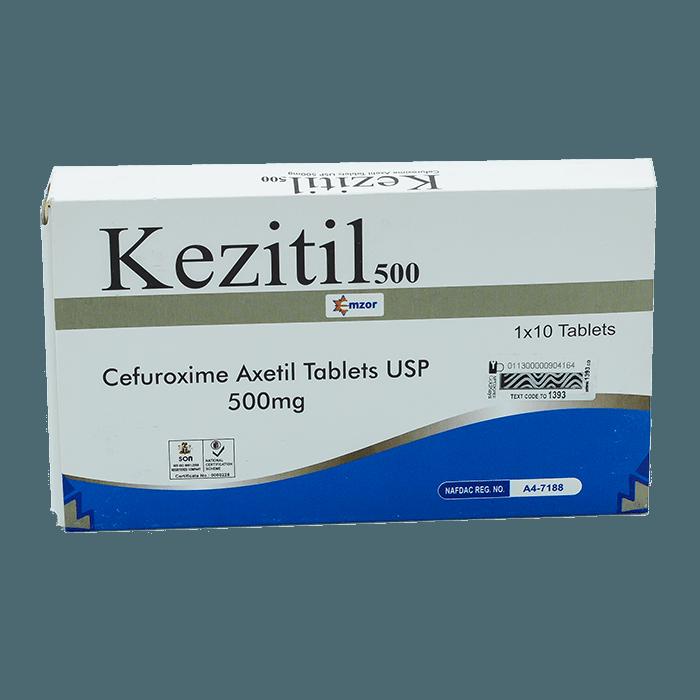 KezitilTablets 500mg 1*10 Image