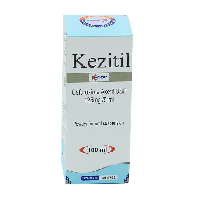 Kezitil (Cefuroxime) Suspension 100ml Image