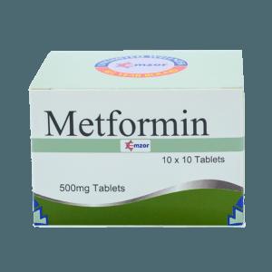 Metformin 500Mg Tab Image