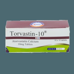 Torvastin-10 (Atorvastatin) Tab Image