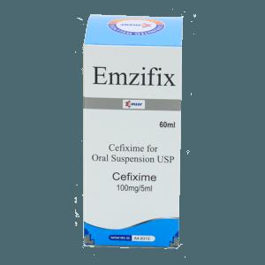 Emzifix (Cefixime) Suspension Image