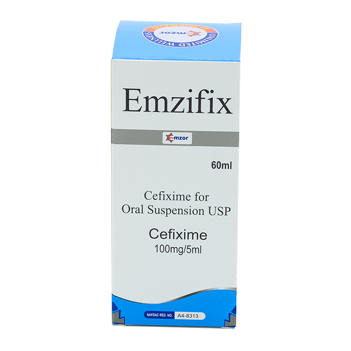 Emzifix (Cefixime) Suspension Image