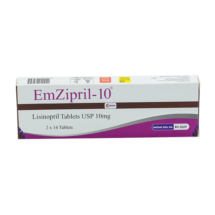 EmZipril-10 Image