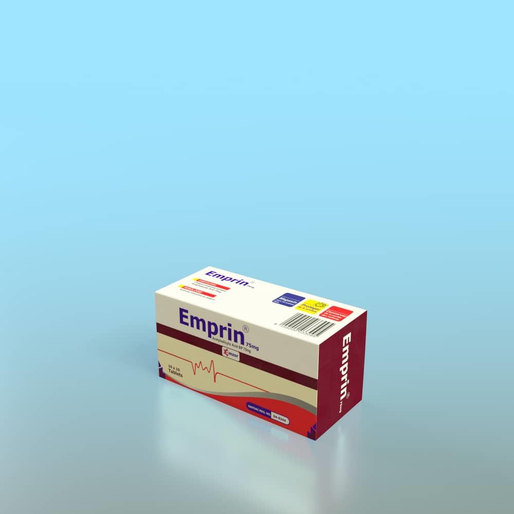 Emprin 7mg 10*10 Image