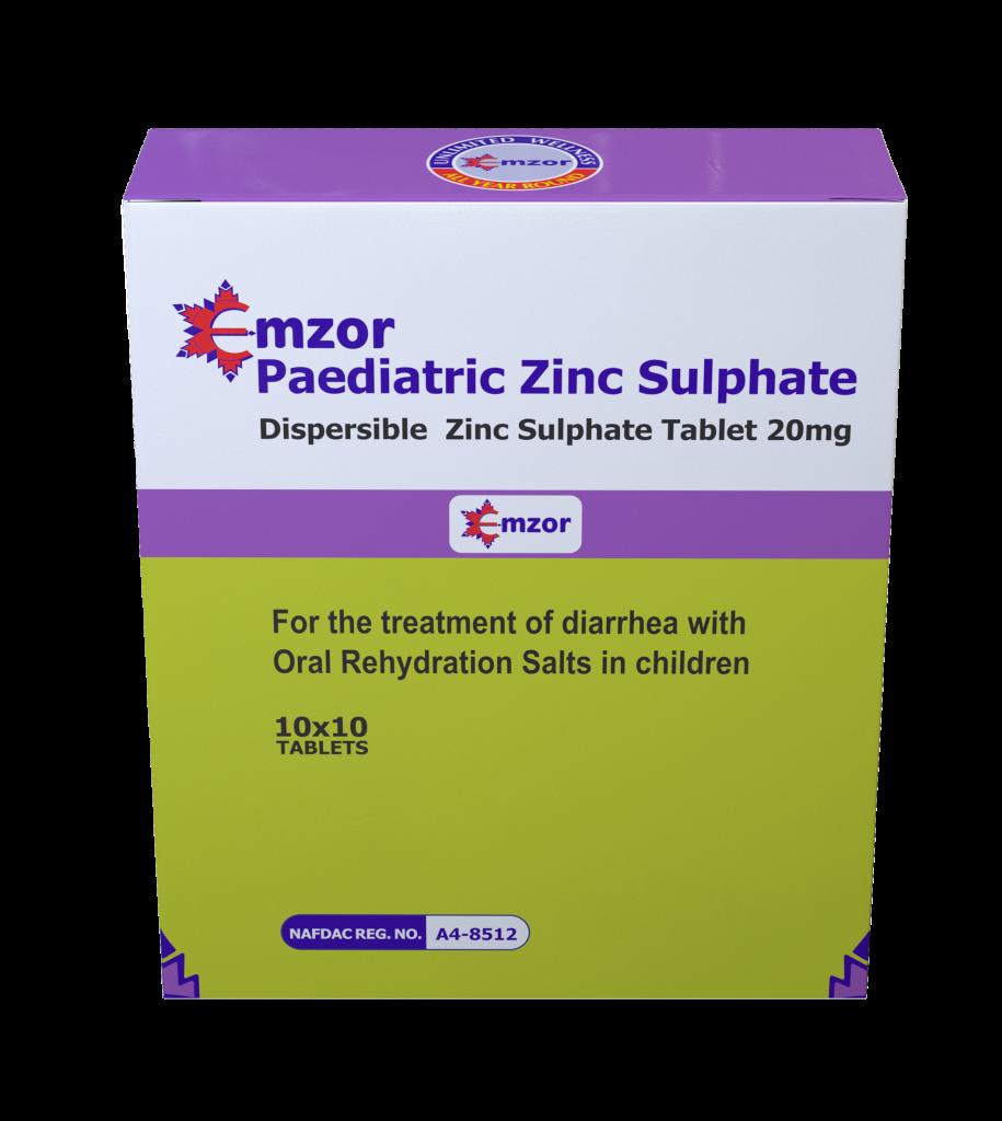 Zinc Sulphate (Paediatrics) 10*10 Image